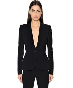 Antonio Berardi | Single Breasted Cady Jersey Jacket