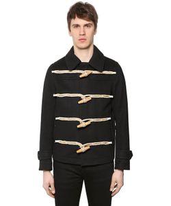 Burberry | Короткое Шерстяное Пальто