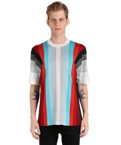 Marco De Vincenzo | Striped Knit T-Shirt
