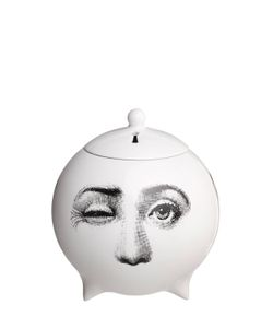 FORNASETTI | Tre Visi Incense Sphere With Lid
