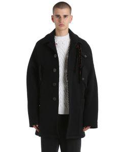 Damir Doma | Пальто Из Двойной Полушерстяной Ткани