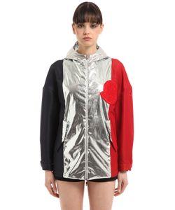 Moncler Gamme Rouge   Куртка Из Фай И Поплин С Ламé