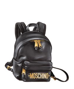 Moschino | Backpack Printed Leather Pouch