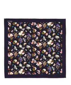 Eton | Карманный Шёлковый Платок С Цветочным Принтом