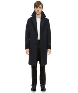 Lanvin | Пальто Military Из Шерстяного Фетра