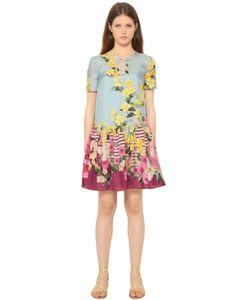 Blugirl | Платье Из Жоржета С Принтом