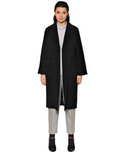 Marina Rinaldi | Однобортное Пальто Из Шерсти