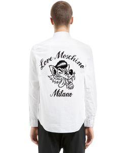 Love Moschino | Рубашка Из Поплин