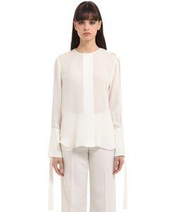 Calvin Klein Collection | Рубашка Из Двойного Жоржета