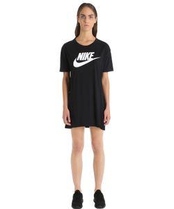 Nike | Футболка-Платье Essential С Принтом