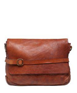 Campomaggi | Vintage Effect Leather Messenger Bag