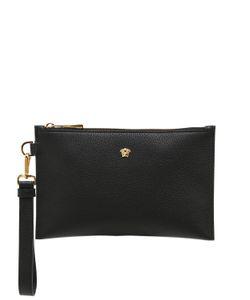 Versace | Кожаный Клатч