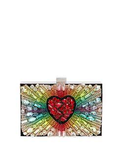 Gedebe | Замшевый Клатч Boxy Rainbow Heart