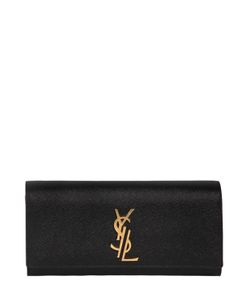 Saint Laurent | Кожаный Клатч Kate Monogram