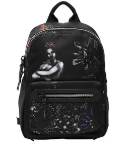 Lanvin | Рюкзак Из Нейлона С Принтом