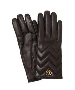 Gucci | Кожаные Перчатки Gg Marmont 2.0