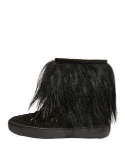 Moon Boot | Pulse Chalet Suede Fur Boots