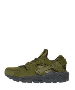 Nike | Air Huarache Faux Suede Sneakers