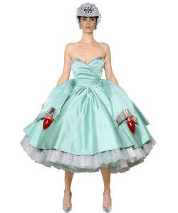 Moschino | Платье Cadillac Из Дюшес