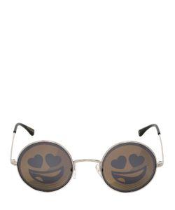 JEREMY SCOTT BY ITALIAN INDEPENDENT | Солнцезащитные Очки Emoji
