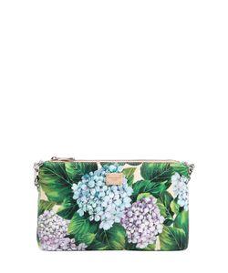 Dolce & Gabbana | Клатч Sicily С Принтом Цветов Гортензии