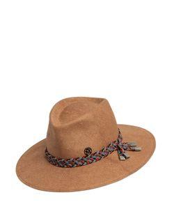 Maison Michel   Шляпа Pierre Из Плетёной Бумаги