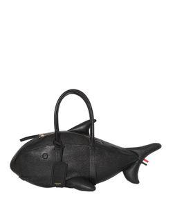 Thom Browne | Сумка Из Шагреневой Кожи В Форме Акулы