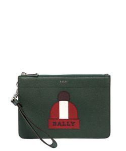 Bally | Кожаный Клатч С Принтом