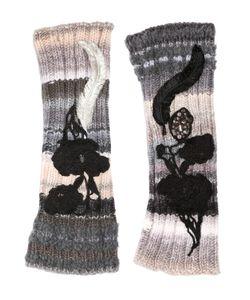 Antonio Marras | Перчатки Из Шерстяного Трикотажа С Вышивкой