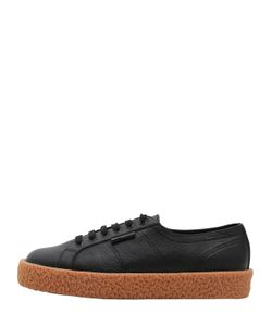 Superga | 34mm Mega Paura Leather Sneakers
