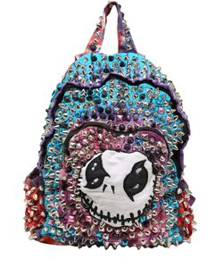 PATRICIA FIELD ART FASHION   Kyle Brincefield Hand-Painted Backpack