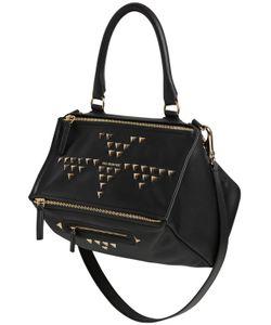 Givenchy | Кожаная Сумка Pandora С Треугольными Заклёпками