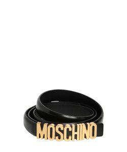Moschino | Кожаный Ремень С Логотипом 20mm