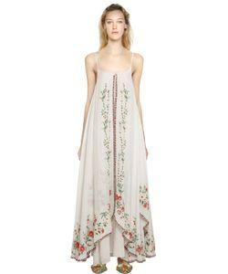 Mes Demoiselles | Платье Из Хлопковой Вуали С Вышивкой