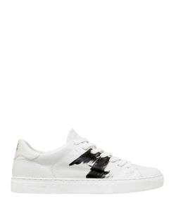 Crime | Brushed Leather Sneakers