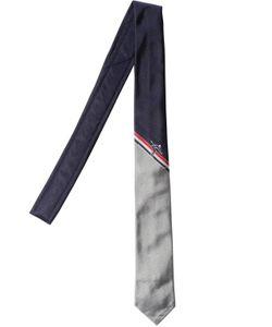 Thom Browne | Галстук Skier Из Шёлкового Жаккарда 55cm