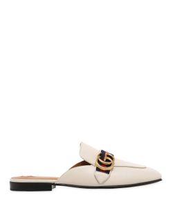 Gucci | Кожаные Туфли-Мюли Peyton 10mm