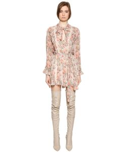 Zimmermann | Folly Print Silk Georgette Romper