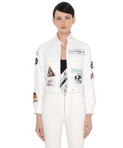 Courreges | Nylon Jacket W Patches