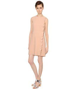 Yves Salomon | Платье Из Крепа С Оборками