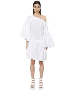 MSGM | Ruffled Cotton Blend Dress