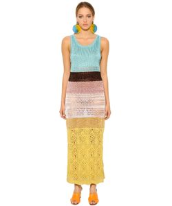 Missoni | Color Blocked Crocheted Dress