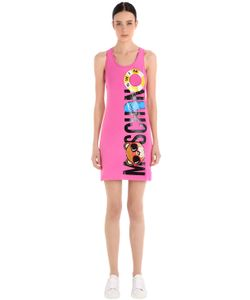 MOSCHINO BEACHWEAR | Moschino Print Cotton Jersey Dress