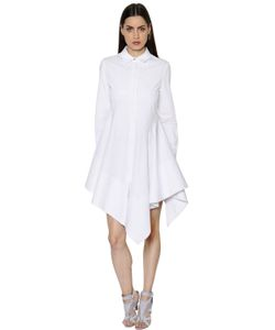 Antonio Berardi | Asymmetric Cotton Poplin Dress
