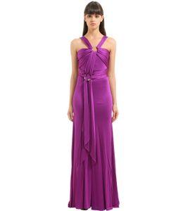 Roberto Cavalli | Платье С Драпировкой