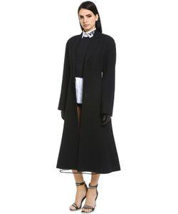 Versace | Пальто Из Двойной Шерсти