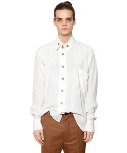Vivienne Westwood | Рубашка Из Вискозы С Асимметричным Воротником