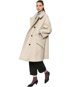 Isabel Marant Étoile | Пальто Из Полушерстяной Саржи