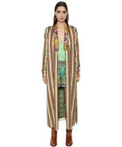 Etro | Anise Cotton Silk Blend Robe Jacket