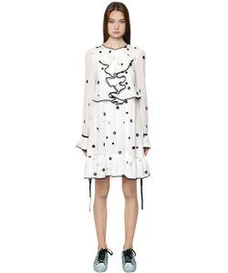 Odeeh | Платье Из Хлопковой Вуали В Горошек